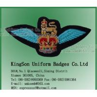 China Air wings,Army badge,Bullion wire badge on sale
