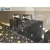 Black Luxury Motion Chair 7D Motion System Arc Screen Can Help Installation Manufactures
