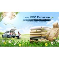 Ecological cow Genuine Leather Fabric with 80% natural leather balance pu coating Manufactures