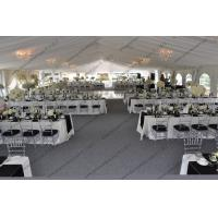 Decorations Outdoor Luxury Wedding Event Tents , Large Wedding Tent For Parties Manufactures