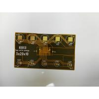 China Customize single side flexible printed circuit board with contact pads on sale