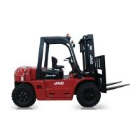 China Diesel Powered Heavy Duty Forklift , Load Capacity 6 Ton Forklift 3m - 6m Lift Height for sale