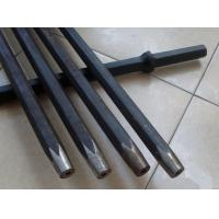 Mining Integral Rock Drilling Tools , Quarrying Plug Hole Drill Rod Manufactures