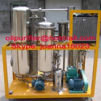 Stainless steel UCO purifier, cooking oil Filtration, oil treatment plant Manufactures