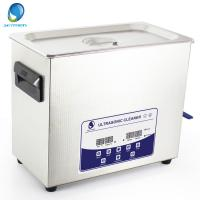 Dental Tool Digital Ultrasonic Cleaner Touch Control Fully Sterilizing Ultrasonic Denture Cleaner Manufactures