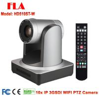 2mp RJ45 IP Wifi SDI 10X Zoom PTZ Conference Camera For Broadcast Tele Education System Manufactures
