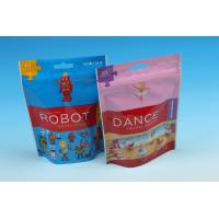Zip Lock Packaging Bags For Toy , plastic toy packaging bag Manufactures