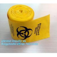 Garbage Autoclavable Polypropylene Bags PLA Biodegradable Clinical Manufactures
