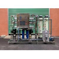 China RO + EDI System Water Treatment Purification System / Water Treatment Equipment on sale