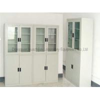 Chemical Reagent Metal Storage Cabinet , Chemical Storage Shelves Movable Manufactures