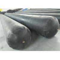 Black Appearance Inflatable Rubber Balloon High Strength For Concrete Pipe Manufactures