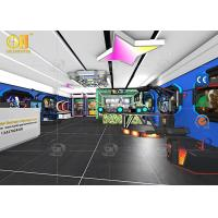 Play Zone VR Theme Park , Theme Park Virtual Reality Interactive VR Sitting Game Manufactures