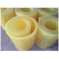 China 80 Shore A Polyurethane Rubber Sheet Natural Color PU Sheet Solvent Resistance on sale