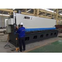 Quality 18.5KW Guillotine Metal Cutting Machine With Germany ELGO P40 NC Control System for sale