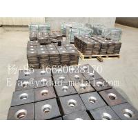 150*150*20mm M25 bar Steel anchor plate/ Flat and domed steel plate /Bearing plate used for screw thread steel bar bridg Manufactures