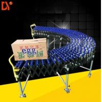 China BC Chain Driven Roller Conveyor System , Flexible Roller Curve Conveyor Chain Transfer on sale
