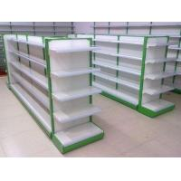 Shopping Supermarket Two Sides Shelf  Gondola / Display Shelving Manufactures