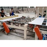 China PLC controlled Sheetrock PVC and Aluminum Foil Double Side Laminating Machine on sale