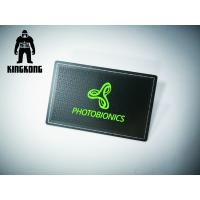 Luxury Stainless Steel Matte Black Background Metal Business Member Card 85x54mm Manufactures