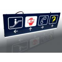 Shopping Mall Interior Wayfinding Signage , Double Sides Outdoor Wayfinding Signs Manufactures
