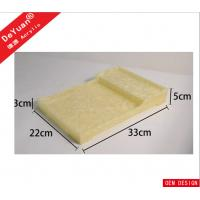 Durable RHOS Acrylic Display Stands , Plexiglass Marbel Food Serving Tray Manufactures