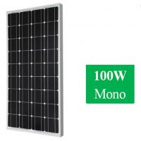 100W 12v Monocrystalline Solar Panel For Home Manufactures