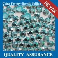 korean octagon aluminiu hot fix rhinestuds& iron on stud,high quality octagon hot fix rhinestud 0825 Manufactures
