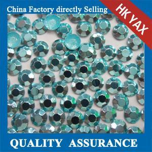 Buy cheap korean octagon aluminiu hot fix rhinestuds& iron on stud,high quality octagon hot fix rhinestud 0825 from wholesalers