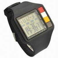 Black LCD Watch in Square Shape Manufactures