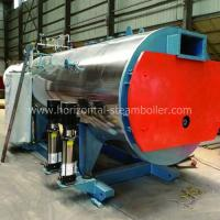 6T Gas Fired Boiler , Fruits Dehydration Line Efficiency Automatic Running Boiler Manufactures