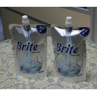 Opaque Colored Aluminum Foil Pouches , Stand Up Pouch With Spout Packaging Manufactures