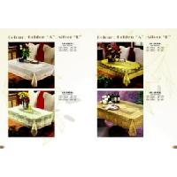 Quality PVC Lace Table Cloth for sale