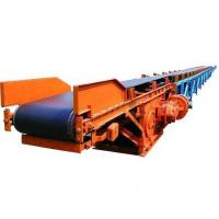 China Carbon Steel Tube Screw Conveyor / Movable Belt Conveyor Transfer Material Continuously on sale