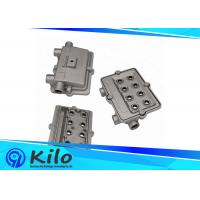 Aluminum Die Casting Components Rapid Tooling Prototype With Black Powder Coating Manufactures