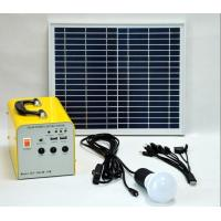 10w Garage Solar Lighting Kit  Solar Power Home Kits Multi - Function Manufactures