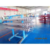 275KV,160kN Composite Silicone Insulator Long Rod With Eyes Fittings Manufactures