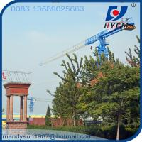 QTP7427 Topless 74m Jib Lenght 18ton Max. Load Flattop Tower Crane with Low Price Manufactures