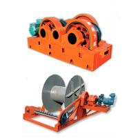 220V ~ 440V Fast Speed Electric Wire Rope Winches , Large Tonnage Windlass Manufactures
