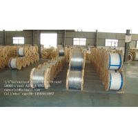 1/4 Inch EHS Class A 7 Wire Galvanized Steel Wire Strand With 5000ft / Drum Manufactures