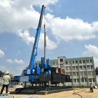 ZYC460 Hydraulic Static Pile Pressing Machines For Precast Pile Driving Of Foundation Manufactures