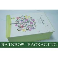 Luxury Accessories Packaging and Printing Box , Book Shape Gray Board Paper Box