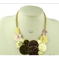 Top Hot Sell Colorful eco-friendly Alloy Coin Charm Necklace for ladies Manufactures