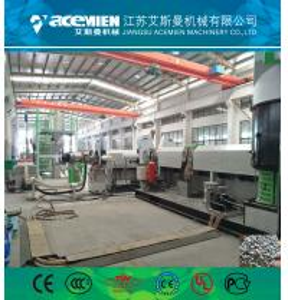 PP PE plastic bag granulation line pelletizer machine extrusion machine recycling machine Manufactures