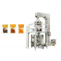 China Full Automatic Dried Fruit Packing Machine 50mm To 200mm Bag Width High Accurate on sale