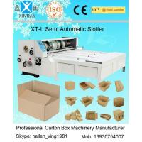 3kw CE Joggling Chrome Chain Feeding Automatic XT-L Series Carton Slotting Machinery Manufactures
