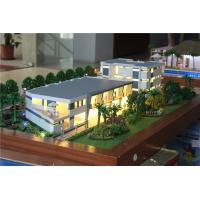 1 / 100 Scale Villa 3D Model Villa Resort Type Painted / Layered Color Manufactures