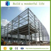 China prefabricated high rise steel structure building godown design China supplier on sale