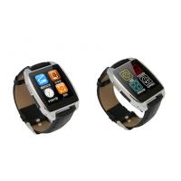 Black / Gold / Silver BT 4.0 Bluetooth Smartphone Watch With 200mAh Lithium Polymer Battery Manufactures