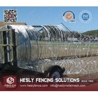 Mobile Security Barrier Razor Wire Manufactures