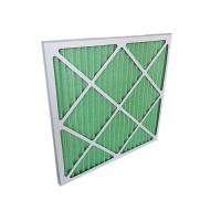 Low Resistance Pleated Panel Air Conditioner Air Filters HVAC For Primary Filtration Manufactures